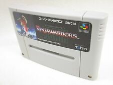 THE NINJA WARRIORS AGAIN Cartridge GOOD Condition Super Famicom Nintendo sfc