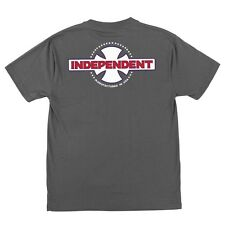 Independent Trucks Mfg Usa Skateboard Shirt Dark Grey Xxl