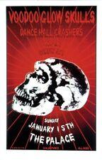 Voodoo Glow Skulls Poster Dance Hall Crashers Wax Art Matt Getz S/#rd Original