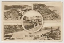 Devon postcard - Teignmouth (Multiview showing 5 views)