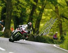 James Hillier 2016 Isle of Man TT signed 16 x 12 picture & proof certificate.