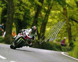 James Hillier 2016 Isle of Man TT signed 10 x 8 picture & proof certificate.
