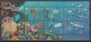 Australien - Michel-Nr. Block 20 IV gestempelt/o (Unterwasserwelt / Sea Life)