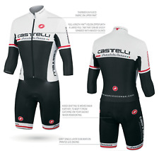 Castelli Men's San Remo Cyclocross Cycling Speed Suit Size Large