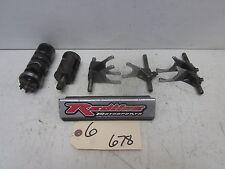 1987 Yamaha Moto-4 YFM 350 Transmission Shift Shaft Drums Forks Set