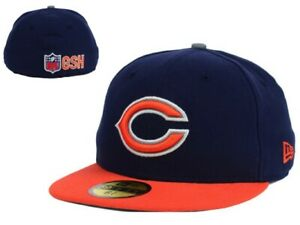 Chicago Bears New Era NFL On Field Thanksgiving 59Fifty 6 3/8 Youth Hat Cap GD