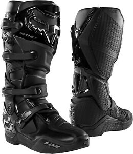 New 2021 Fox Racing Adult Instinct Boot Black Size 10