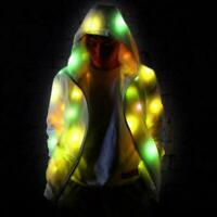 Waterproof Colorful Led Luminous Costumes For Halloween Clothes Dance Party T0T6