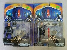 New Lost In Space Proteus Armor Dr. Smith & Prof John Robinson Figures 1997 s168