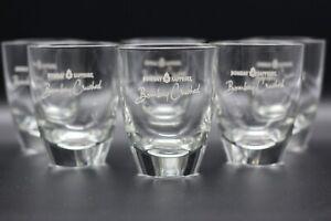 6x Bombay Sapphire Gin Crushed Glas Tumbler