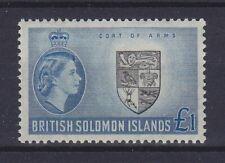 BRITISH SOLOMON ISLANDS 1956, SG 96 / 1 £, MNH