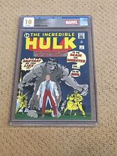 """Incredible Hulk 1 CGC 10 """"Gem Mint"""" White Pages Silver + magnet"""