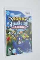 NINTENDO WII ** Sonic & Sega All-Stars Racing ** BRAND NEW FACTORY SEALED