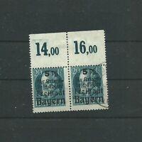 Bayern, AD, Mi.-Nr. 173A, OR,1919, Paar,**+o, gesucht! RAR! ansehen