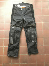 ICON Motosports TIMAX Motorcycle Pants//Jeans w// Adjustable Armor Blue US 34