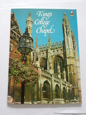 VINTAGE GUIDE TO KING'S COLLEGE CHAPEL - EXCELLENT CONDITION