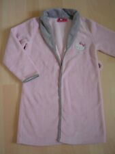 HELLO KITTY : ROBE DE CHAMBRE Polaire rose fille 8 ANS - TTBE -