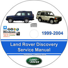 New listing Land Rover Discovery 1999 2000 2001 2002 2003 2004 Service Repair Manual