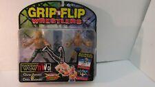 Toy Biz Grip N Flip Wrestlers Chris Jericho & Dean Malenko Action Figure t816