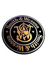 Smith & Wesson Vinyl Decal For Shotgun / Rifle / Case / Gun Safe / Car 2""