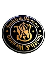 Smith & Wesson Vinyl Decal Sticker For Shotgun / Rifle / Case / Gun Safe / Car 2