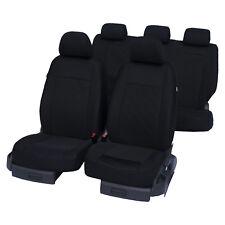 Autositzbezüge Schonbezüge Schwarz Universal passend für FORD