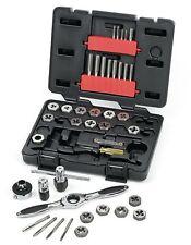 """Rolson 40 Piece Socket Set 1//4/"""" /& 3//8/"""" RAMPA Poignée Lecteur Prise Set"""