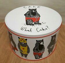 Jimbobart Bear In Pants Large Round Cake Tin