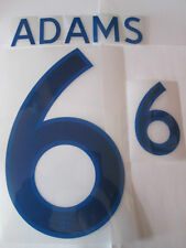 Adams no 6 England Home Football Shirt Name Set Adult Sporting ID