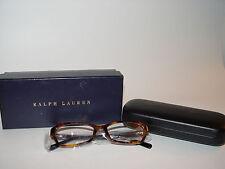 NEW Ralph Lauren RL6097 5386 Eyeglasses Frames Womens Black 52 16 135 Tortoise