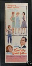 COURTSHIP OF EDDIE'S FATHER * CineMasterpieces MOVIE POSTER INSERT 1963
