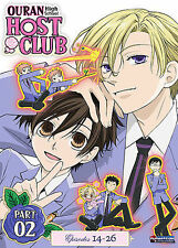 Ouran High School Host Club - Season 1 Part 2 (DVD, 2009, 2-Disc Set) NEW!
