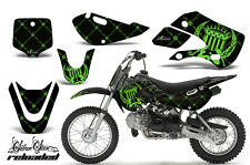 Decal Graphic Kit Wrap For Kawasaki KLX 110 2002-2009 KX 65 2002-2018 RELOAD G K
