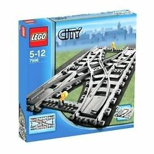 NEW Lego RC TRAIN Double Crossover Track - Rare - Hard to Find!!