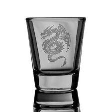 2oz Flying Dragon SHOT GLASS