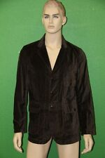 STEVEN ALAN Men's Brown Solid 100% Cotton Lowell Sport Coat MTA09CT Size XL