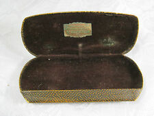 Old Eyeglasses hard case Benson Optical Co.