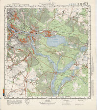 Russian Soviet Military Topographic Maps - BERLIN(south-east), 1:50 000, ed.1985