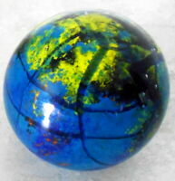 """PAPER WEIGHT ROUND WITH GROUNDED BOTTOM ABOUT 2 1/2""""  TALL"""