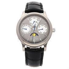 Jaeger-LeCoultre Master Control Calendar Auto Gold Mens Strap Watch Q149347A