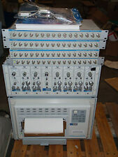 Gould Data Acquisition System With TA2000 Recorder 8 Modules & 4 ACQ16 Interface