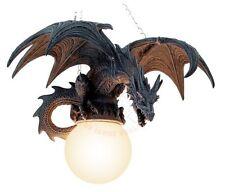 Drachenlampe Drachen Hängelampe Drache Lampe Fantasy Gothic Dragon LARP 766-5042
