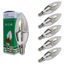 6er E14 6W LED Glühbirne Lampe Glühlampe Kerzenbirne Klatweiß Kerzen Sparlampe