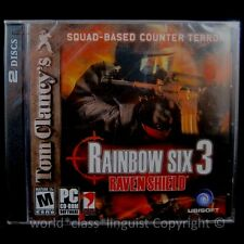 NEW Tom Clancy's Rainbow Six 3 Raven Shield PC Game Classic First Person Shooter