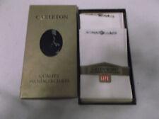 Vintage Men's Handkerchiefs by Carleton