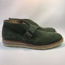 Cole Haan [C12035] Christy Wedge Monk Chukka Olive Suede Men's Boot Size: 10.5