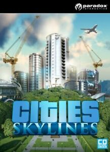 Cities Skylines PC/Mac Game Offline S Team Fast Post UK Great Condition