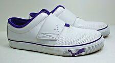 Puma Tennis Shoes Women's White Leather Athletic Sport Lifestyle Size 7 Medium
