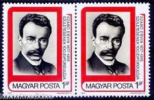 Ervin Szabo, Social Scientist, librarian, Revolutionary, Hungary 1977 MNH 1vpair
