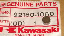 See List 7.50mm Diameter New Genuine Kawasaki T= 3.40 Valve Shim P/No 92180-1050